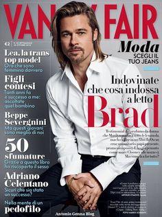 "VANITY FAIR BRAD PITT | Edicola – ""Vanity Fair"" #42/2012, 24 ottobre 2012: ""Indovinate ..."