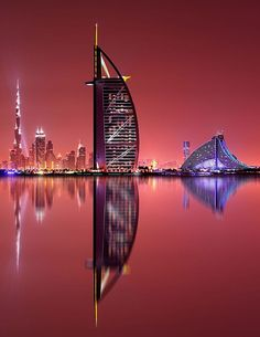 Dubai & Milan Vacation with Airfare from Pacific Holidays Savoy Central Hotel Apartments Dubai Architecture, Amazing Architecture, Vacation Places, Vacation Spots, Dubai Golf, Dubai City, Amazing Buildings, Night City, City Photography