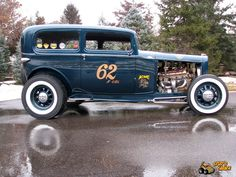 Spud's Garage - 1932 Ford Tudor - Hot Rod