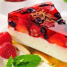 Tort owocowy na zimno Pistachio Torte Recipe, Strawberry Torte Recipe, Blueberry Torte, Apple Torte, Raspberry Torte, Easy Cake Recipes, Apple Recipes, Sweet Recipes, Baking Recipes