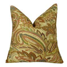 Crestview Honey Handmade Throw Pillow