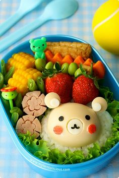 what i would do for my own bento lunch..