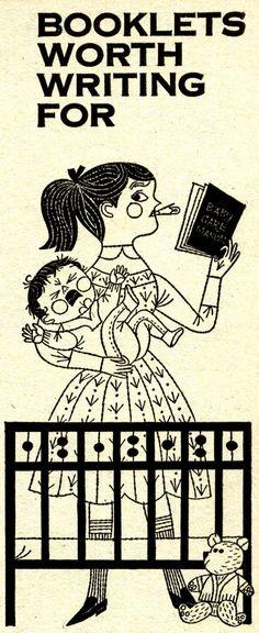 Good Housekeeping Magazine illustrated by Naiad Einsel November 1962