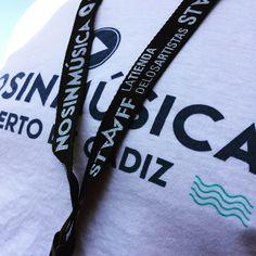 Camisetas y Landyard de Staff Artista en No Sin Musica 2015