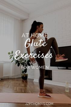 Squats are not the only exercise to help you build your glutes. Keep reading to learn more glute building exercises. Home Exercise Program, Home Exercise Routines, At Home Workout Plan, Workout Programs, Fun Workouts, At Home Workouts, Glute Workouts, Glute Activation Exercises, Glute Isolation Workout