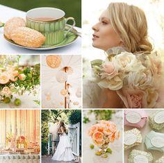 Marry You Me: Inspiration Board: An English Garden Wedding Tea Wedding Bells, Our Wedding, Dream Wedding, Wedding Stuff, Chic Wedding, Party Wedding, Wedding Hair, Summer Wedding, Marry You