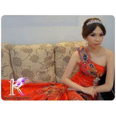 makeup & hairdo. Bride: Nicole #hairdo #bridalmakeup #bridalupdo #bridalhair #koreastyle #koreamakeup #wedding #bride #makeup #hairstyle