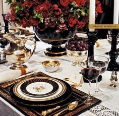 Parsimonious Décor Darling: Set Your Table With Flair--A Ralph Lauren-Inspired Winter