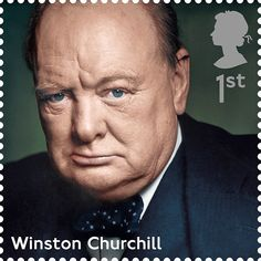 Royal Mail - Winston Churchill 1st Class Postage Stamp. 1968