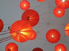 Lampions, Lanternas Chinesas
