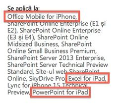 "Microsoft Leaks references to ""Office Mobile for iPhone"", ""Excel for iPad"", and ""PowerPoint for iPad"""