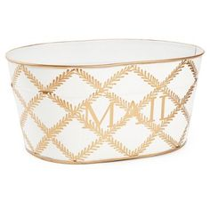 Check out this item at One Kings Lane! Mail Tub Leaf Lattice