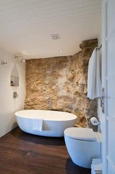 desire to inspire - desiretoinspire.net - ... and oh theview! : bathroom / stone