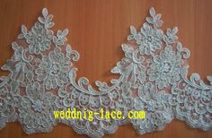 embroidered lace by the yard   Beads Embroidery Lace Trims - China Lace Tirms,Embroidery Lace Trims