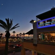 BLK Earth Sea Spirits - Huntington Beach, CA, United States. Every table in the restaurant has an incredible view!