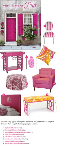 The Pink Pagoda: The House of Pink on Reign Magazine