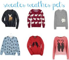 Yes, I probably wear too many animal jumpers, but I don't care.