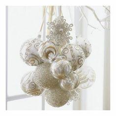 glamorous christmas decorations - Google Search