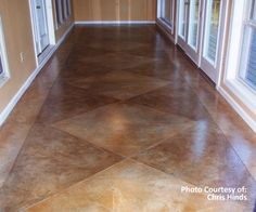 SoyCrete Concrete Stain instead of Acid Stain - love it!