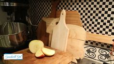 Cutting boards from #Goodwill.  Give them a good cleaning and they work like a charm!  #thrift #kitchen
