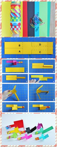 DIY Toy Paper Helicopter