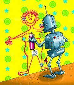 Robot nepotřebuje nafukovací ...