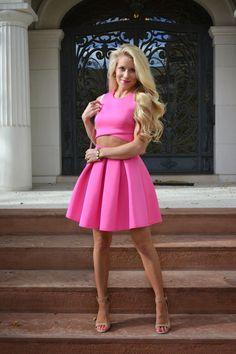 Pink & Petite via Lovely Little Style