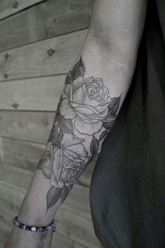 Rose Print Mehndi Design