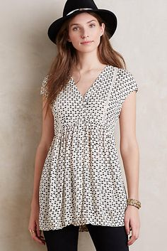 Speckled Tunic - anthropologie.com