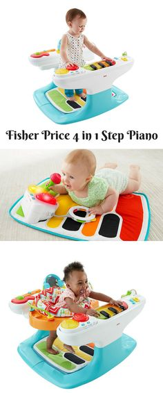 Fisher Price 4 In 1 Step Piano
