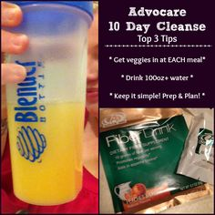Advocare 10 Day Cleanse Top Tips // My experience with the cleanse.