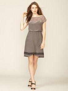 Vega Silk Embroidered Dress by San & Soni