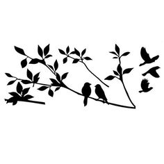 Coromose Tree Branch Bird Art Wall Removable Stickers -- Review more details here : home diy wall