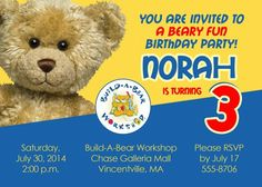 What to expect during a build a bear birthday party coupon code printable build a bear birthday party invitation print your own buildabear workshop invitation size diy filmwisefo
