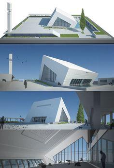 Contemporary Modern Mosque Good.