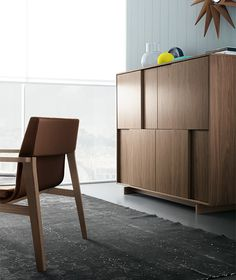 Frame quadra - sideboard | Design: Sergio Brioschi