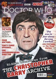 The monthly English Magazine devoted to the cult British science fiction TV series Doctor Who The television programme is still going strong today providing a new generation of fans which the magazine is seeking to attract Second Doctor, Bbc Doctor Who, Twelfth Doctor, Power Of The Daleks, Russell T Davies, Doctor Who Magazine, Discount Magazines, The Fisher King, Bbc Worldwide