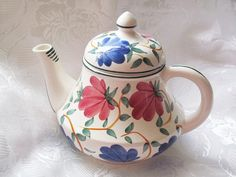 Vintage J.B. & W Germany Hand Painted Porcelain por EstateFinds4U2