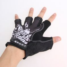 Unisex Cycling Gloves Men Sports Half Finger Motorcycle MTB Road Bike Glove High Quality