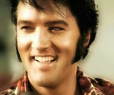 Elvis. I could get lost in that smile!!!