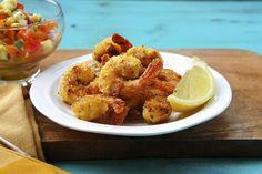 Baked Lemon Garlic Shrimp by seasaltwithfood #Shrimp #Healthy