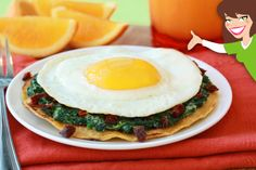 Need great ideas for morning meals? We've got 'em, from a Cheesy Spinach Breakfast Tostada to a Hot 'n Fruity Quinoa Bowl! Healthy Breakfast Recipes, Healthy Eating, Healthy Recipes, Healthy Foods, Meatless Recipes, Healthy Options, Healthy Cooking, Healthy Life, Tostadas