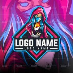 fully editable Ready made logo design. Team Logo Design, Web Design, Logo Free, Esports Logo, Professional Logo Design, Cute Anime Pics, Game Logo, Photo Logo, Animal Logo