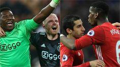 Ajax v Manchester United: final background #FansnStars