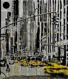 "Saatchi Art Artist Loui Jover; Drawing, ""somewhere in new york city"" #art"