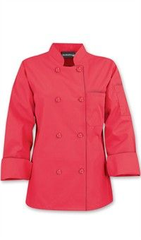 Basic Womens Chef Coats - Pearl Buttons - 65/35 Poly/Cotton by Chef Uniforms.com As low as $18.99