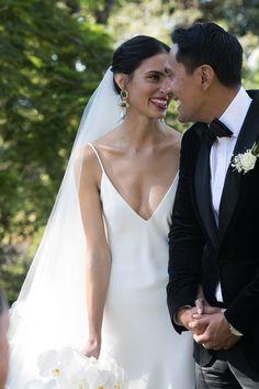 Wedding Looks, Dream Wedding, Minimal Wedding Dress, Perfect Bride, Italian Garden, Garden Party Wedding, Outdoor Wedding Venues, Italy Wedding, Wedding Photoshoot