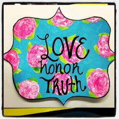 im not a Phi Mu but i love this! #crafting
