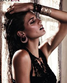 Kendra Spears by Giampaolo Sgura for Vogue Paris February 2012  Giampaolo Sgura shot Kendra Spears in the jewelry story for the February issue of Vogue Paris.