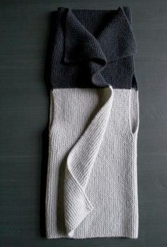 Sideways Garter Vest | The Purl Bee #Knit #Pattern #Free mon prochain projet: simple et génial!